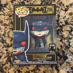 Funko POP Heroes - Batman Red Rain #286 - BNIB